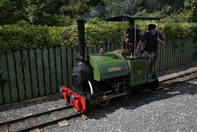 'Georgina' running round at Scalby Mills - 17/08/17
