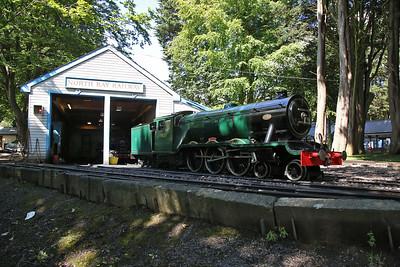 1931 'Neptune', Peasholm Park loco shed - 17/08/17