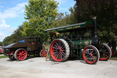 Ransomes Sims & Jefferies Traction Engine, E5123 (27524/1918), 'Jesse' - 16/09/17