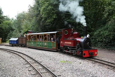 Perrygrove Railway, Vintage Working Weekend, 16th September 2017