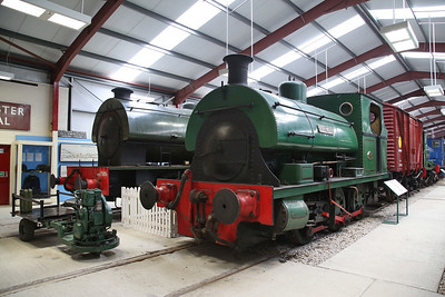 'Fonmon' (P 1636/1924) on display in the RSR museum - 06/05/17.