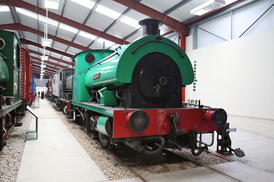 'Agecroft No.2' (RSH 7485/1948) on display in the RSR museum - 06/05/17.