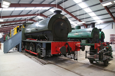 WD 75105 'Walkden' (HE 3155/1944) on display in the RSR museum - 06/05/17.
