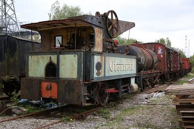 'Glenfield No.1' (AB 880/1902) 0-4-0CT, awaiting restoration at Preston Riverside - 06/05/17.
