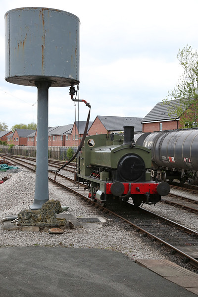Ribble Steam Railway, 6th May 2017