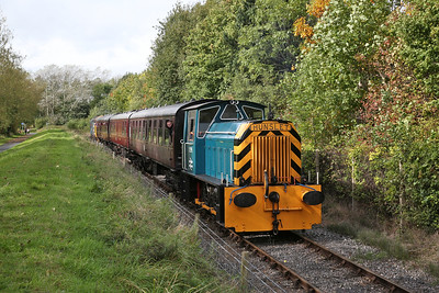 D2595 runs alongside the riverside path, 12.00 Preston Riverside-Strand Rd. - 01/10/17