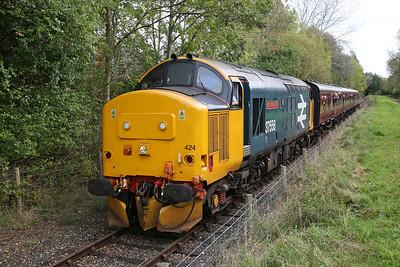 37424 heading back to Preston Riverside (return of the 11.20) - 01/10/17
