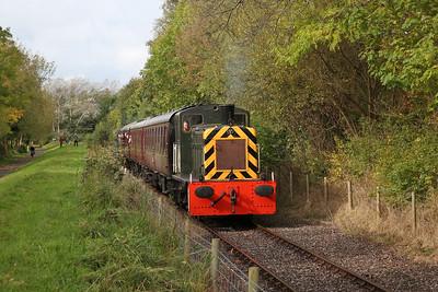 D2148 runs alongside the riverside path, 11.20 Preston Riverside-Strand Rd. - 01/10/17