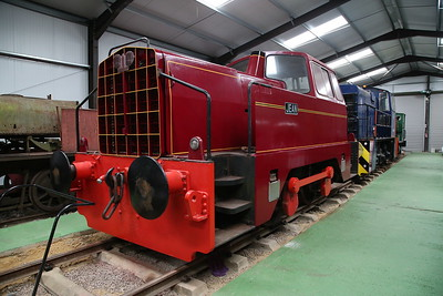 RR 10204/1965 'Jean' (ex-Bibby Construction, London Carriers) on display inside the museum - 04/06/17.