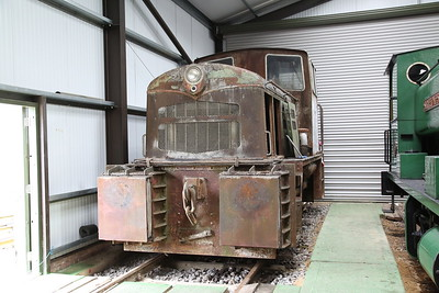 JF 4220007/1960 'Ketton No.1' (ex-Ketton cement works) on display in ex-industry condition inside the museum - 04/06/17.
