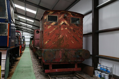 R&H 306092/1950 'RRM12' (ex-BEA Bidder Street Power Station, Canning Town, London) on display in ex-industry condition inside the museum - 04/06/17.