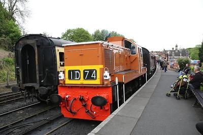 D9551, Bridgnorth, 10.30 to Kidderminster - 19/05/17.