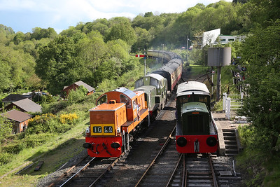 Severn Valley Railway Diesel Gala, 19th May 2017