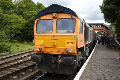 66771, Bewdley, 13.25 ex Kidderminster - 19/05/17.