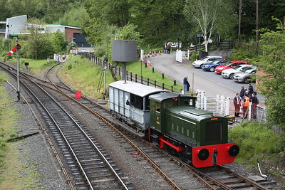 RH 319290/1953, Highley cattle dock, in between BV rides - 19/05/17.