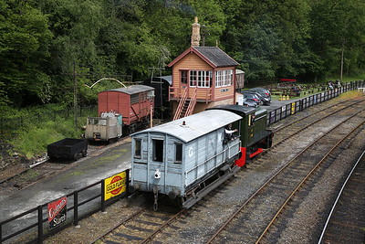 RH 319290/1953 giving BV rides from the cattle dock at Highley - 19/05/17.