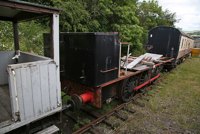 HE 3825/1954, '68009', ex-WD & NCB, Snowdown Colliery, Kent, stored at Kirkby Stephen East - 25/06/17.
