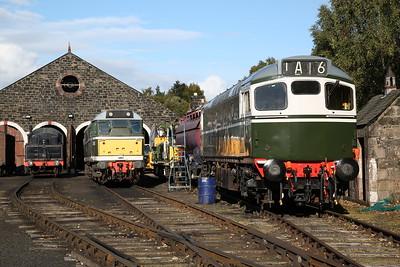 Strathspey Railway, 30th September 2017