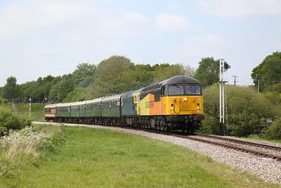 Swanage Railway Diesel Gala, 7th May 2017