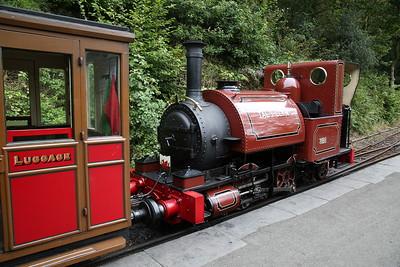 TR No.1 'Talyllyn', Abergynolwyn, 14.30 Nant Gwernol-Tywyn Wharf - 27/08/17