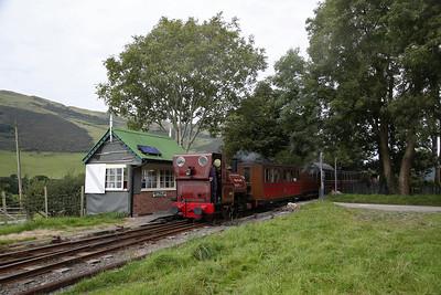 TR No.1 'Talyllyn' dep Brynglas, 14.30 Nant Gwernol-Tywyn Wharf - 27/08/17