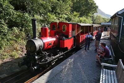 TR No.6 'Douglas', Abergynolwyn, 16.20 Tywyn Wharf-Nant Gwernol - 27/08/17