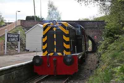 'Tom' (NBL 27414/1954), Horsehay & Dawley, 11.30 to Lawley Village - 15/04/17