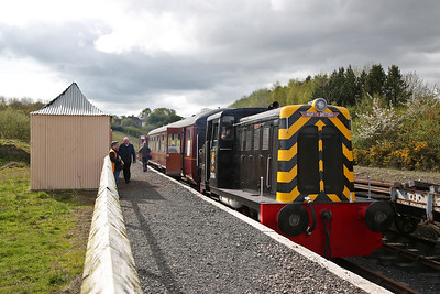 Telford Steam Railway for 'Tom', 15th April 2017