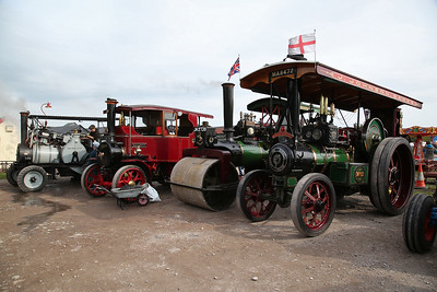Traction engines & rollers on display at Becconsall - 24/09/17