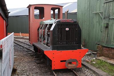 Hudswell 0-4-0 under restoration - 24/09/17