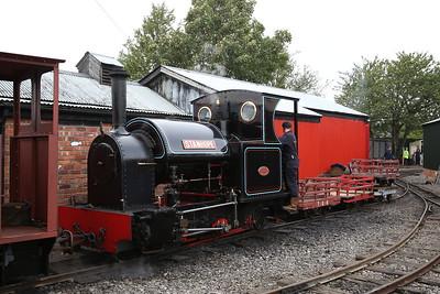 KS 2395/1917 'Stanhope', Becconsall, shunting freight wagons - 24/09/17