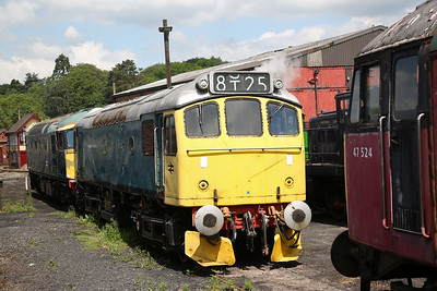 25322, Cheddleton, Out of service pending overhaul - 03/06/18