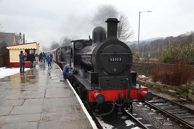 52322 / '2890', Rawtenstall, 1J55 09.50 ex Heywood - 04/03/18