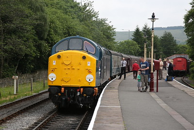 40012, Rawtenstall, 11.05 to Heywood - 09/06/18