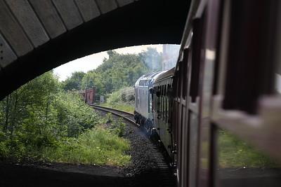 40012 leaving Bury, 09.30 to Heywood - 23/06/18