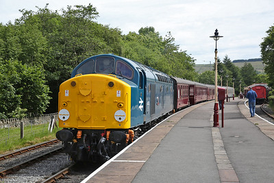 40012, Rawtenstall, 11.05 to Heywood - 23/06/18