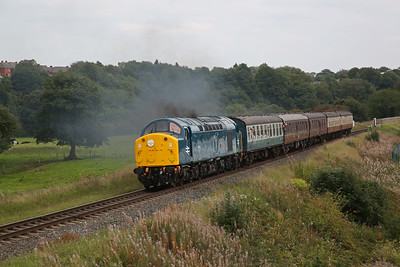 East Lancs Railway, 40012 on diesel diagram, 31st August- 1st September 2018