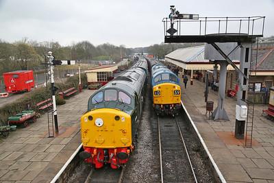 East Lancs Railway, '40s@60' event, 13th-15th April 2018