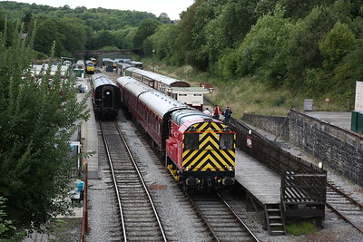 Ecclesbourne Valley Railway for 08605, 18th August 2018