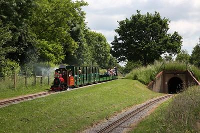 Eastleigh Lakeside Railway, 2nd June 2018