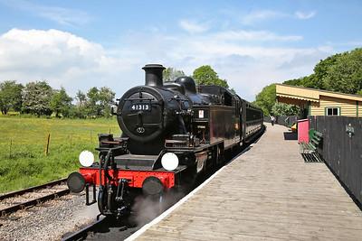 Isle of Wight Steam Railway, 27/05/18