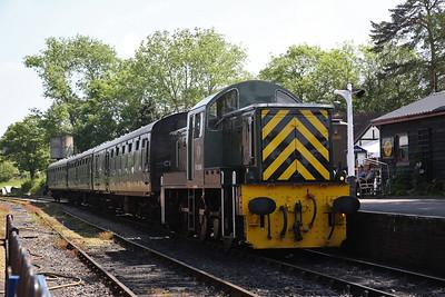 D9504, Tenterden, 12.15 to Bodiam - 28/05/18