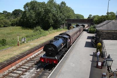 HC 1752/1943 '68067' runs through Butterley, 13.10 Swanwick-Hammersmith-Butterley - 01/07/18