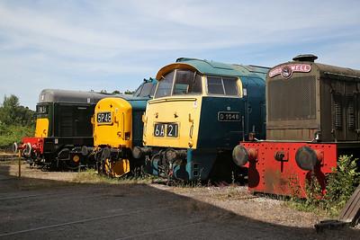 20188, 37190, D1048, HC D1114/1958, Swanwick Jctn. - 01/07/18