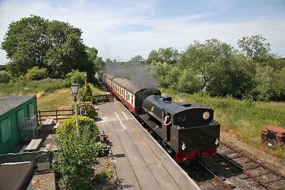 HC 1752/1943 '68067' arr Butterley, 13.10 Swanwick-Hammersmith-Butterley - 01/07/18