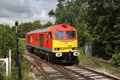 60100, Hammersmith, running round - 17/06/18