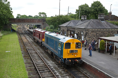 20189 & 20142 run LE through Butterley - 17/06/18