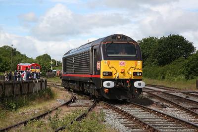 67006, Swanwick Jctn., backing onto the 10.02 Riddings-Hammersmith - 17/06/18