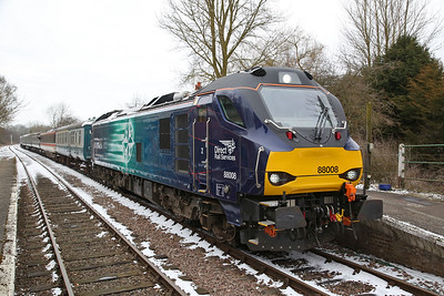 88008, Thuxton, 1W17 14.40 Dereham-Wymondham Jctn. - 18/03/18