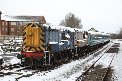 RSS-owned 08754 & 08847, Dereham - 18/03/18